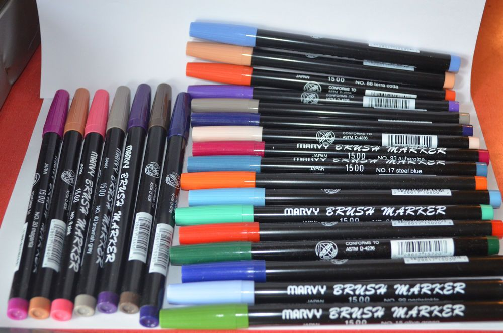 Watercolor Markers Pick 4 Colors Sells For 8 99 Use With Art