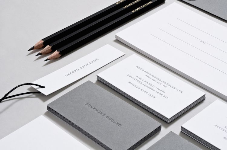 Branding Oxford Exchange Luxury Business Cards Printing Business Cards Metal Business Cards