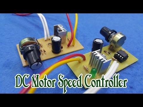 How To Build A Simple Pwm Dc Motor Speed Controller Using Atmega8 Microcontroller Mosfet And Pot Y Motor Speed Electronic Circuit Projects Radio Control Diy