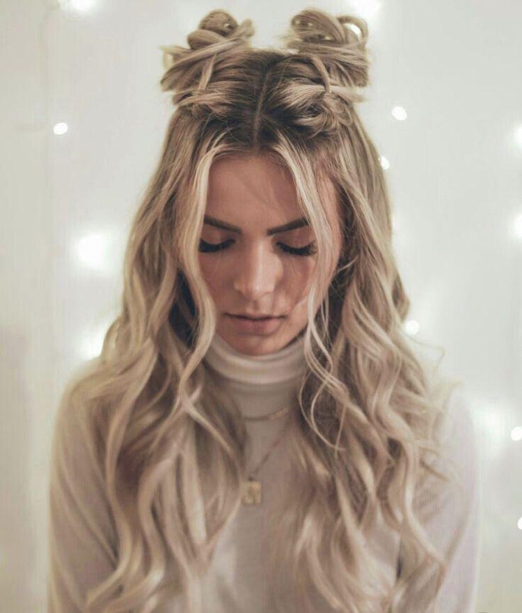 Space Buns Hair Styles Long Hair Styles Cute Hairstyles For Teens