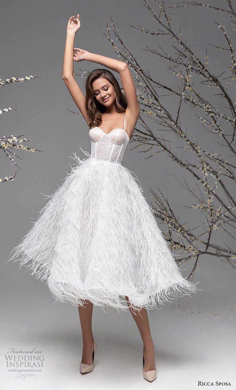 Ricca Sposa Spring 2020 2021 Wedding Dresses Blooming Spring Bridal Collection Wedding Inspirasi Short Wedding Dress Wedding Dress Styles Dresses [ 1485 x 900 Pixel ]