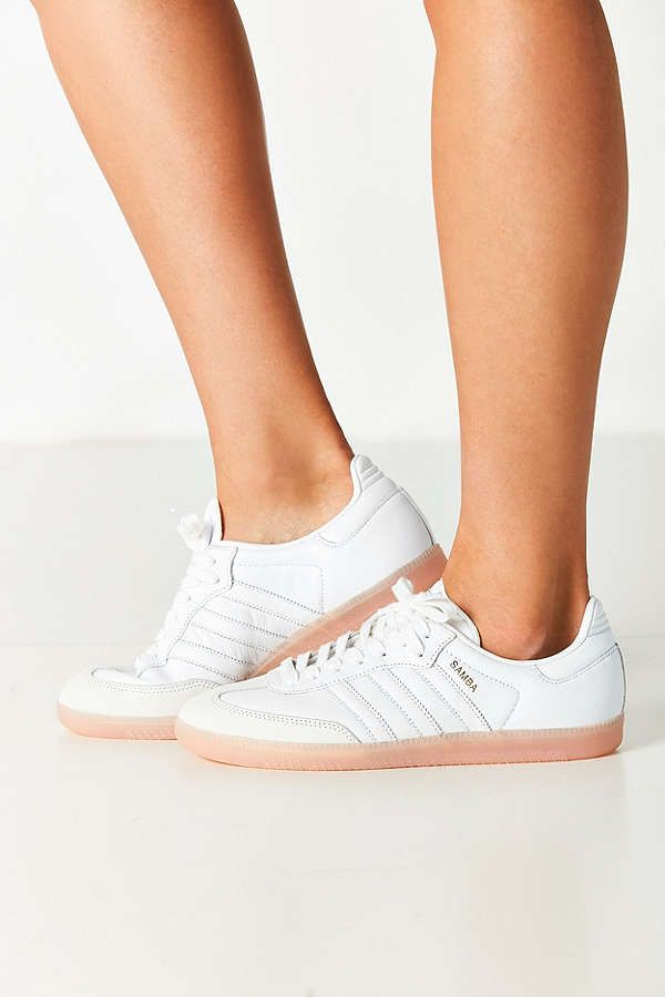 abadbd2a75 Urban Outfitters - Adidas Originals Samba Pink Sole Sneaker