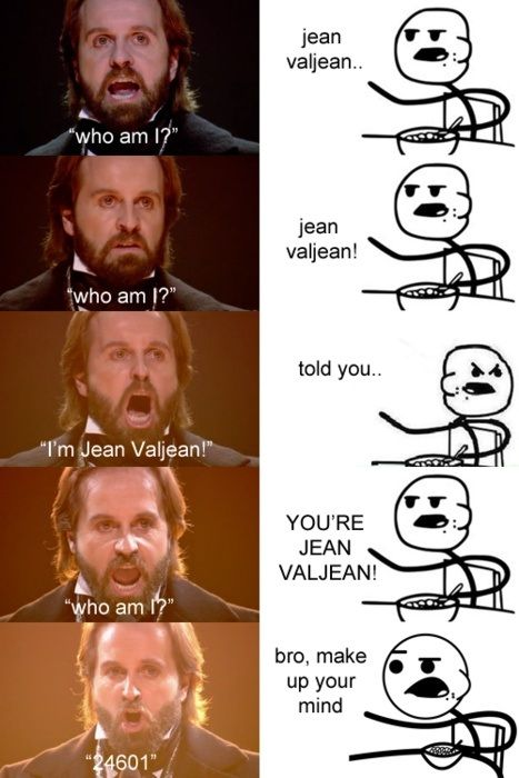 Alfie Boe should have been the Jean Valjean for the movie.  Hugh Jackman can't sing very well
