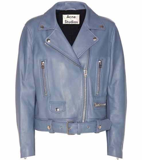 17ff3ae942a Mock leather jacket