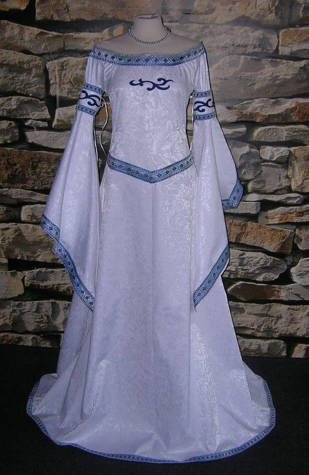 vestido celta de ceremonia   vintage en 2019   pinterest   vestidos