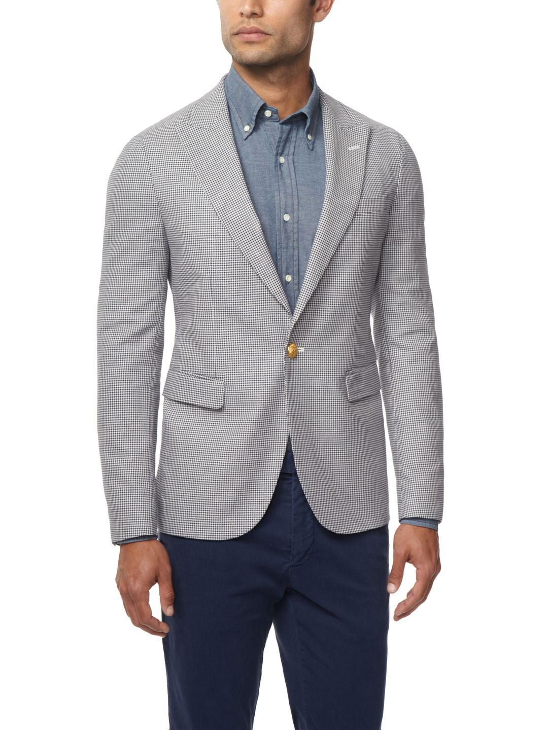 76091008a Houndstooth blazer from Gant Rugger, over at Park & Bond. I really ...