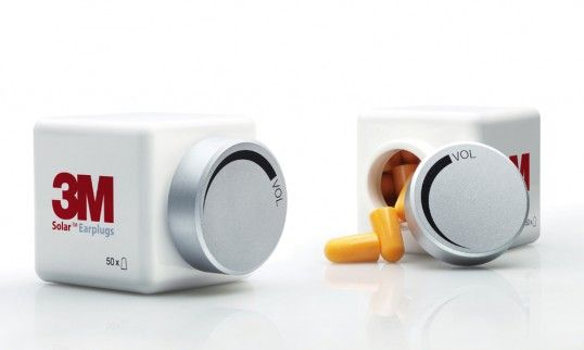 The 3M Earplugs Volume-Down Packaging  Agency: Acholz & Friends Berlin GmbH  Country: Germany  Client: 3M Deutschland GmbH