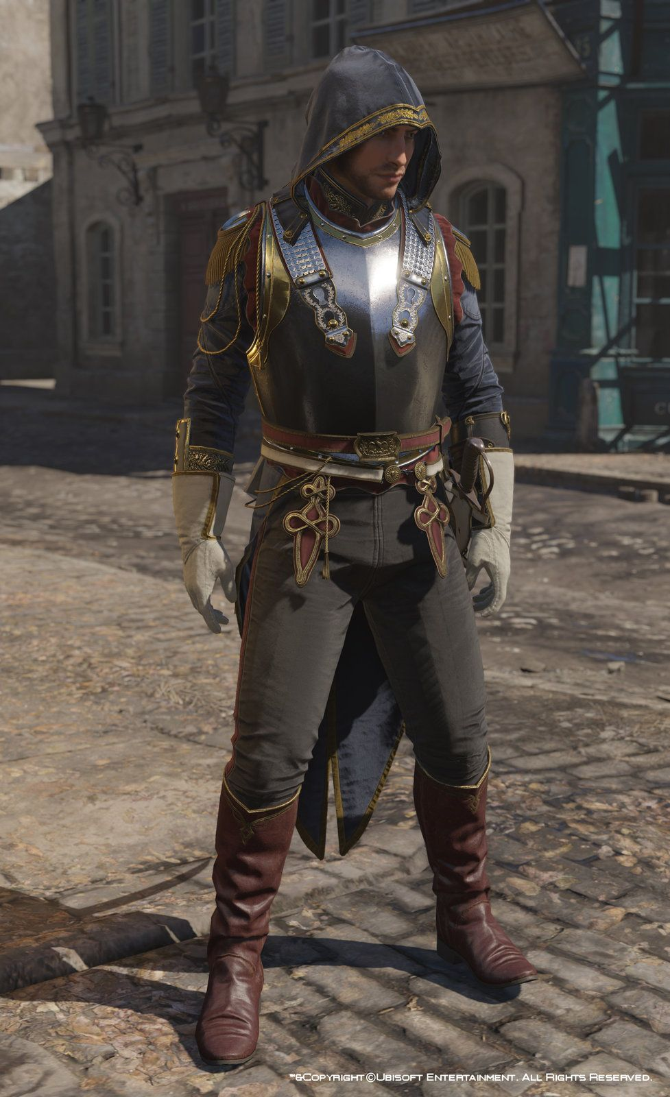 Assassin S Creed Unity Avatar Napoleonian Outfit Four Mathieu