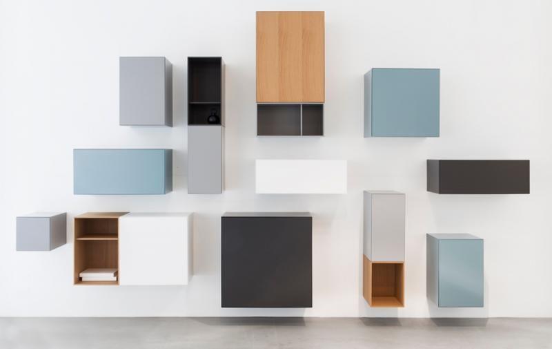 Speelse Interieur Inrichting : Speelse compositie van vision vision boxes by pastoe master