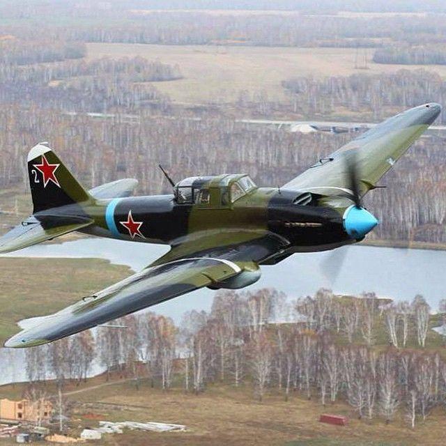 """Ilyushin IL-2M3 """"Sturmovik"""" (Flying Tank"""