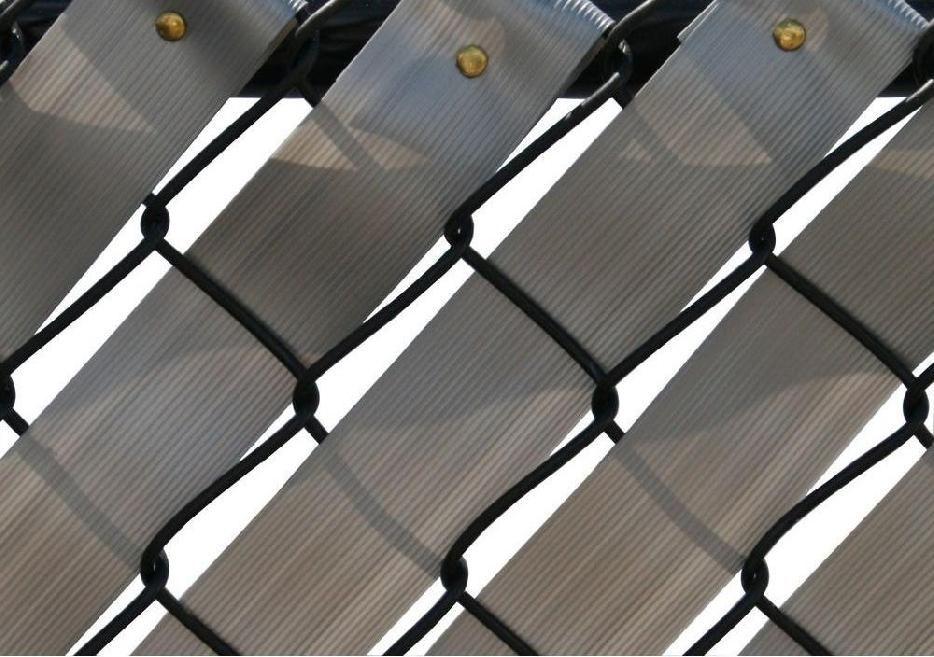 Chain Link Fence Weave | fences | Pinterest