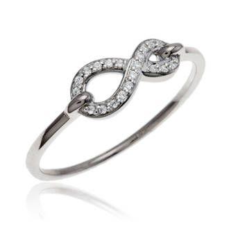 Bague Or gris , Diamant , Manège à bijoux (Leclerc)