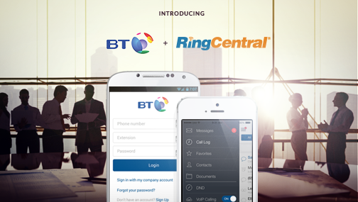 RingCentral Goes Live with BT for NextGen Businesses