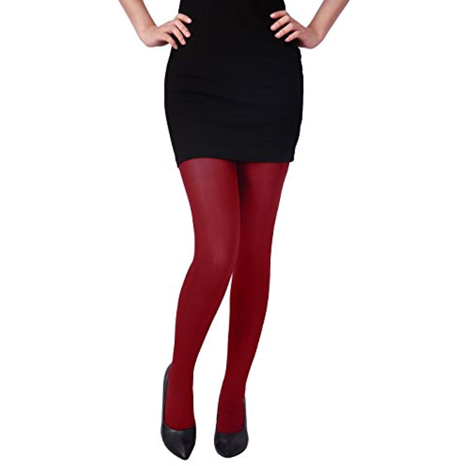 0a7ed333e9af5 Women's Solid Gradient Color Stockings Opaque Microfiber Footed Tights >>>  More info could be found at the image url. (This is an affiliate link)
