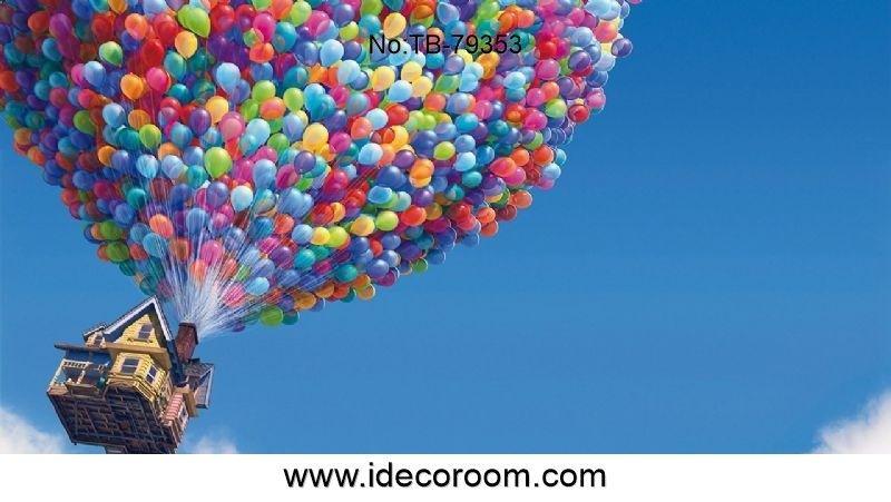 Custom Size Wallpaper Balloons Balloon House 1920x1200 Wallpaper