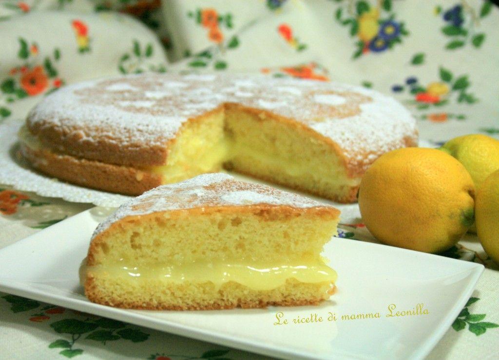 TORTA PARADISO AL LIMONE SOFFICISSIMA -ricetta senza burro e latte