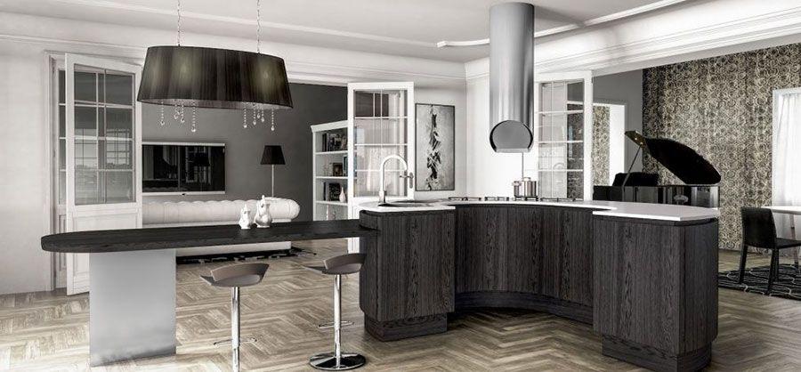 Cucine Moderne Grigie: 22 Modelli delle Migliori Marche | Cucine ...