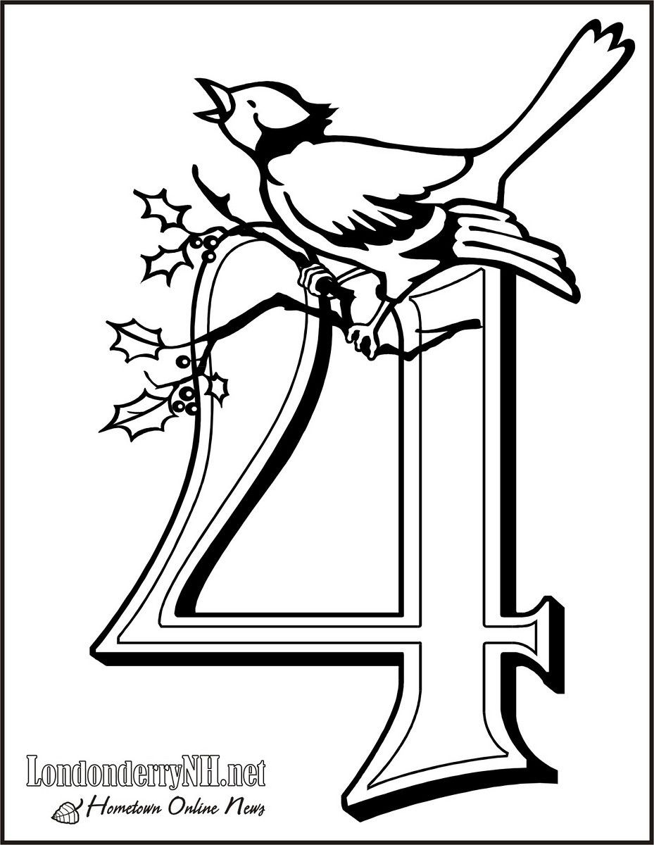 1119318422 Neruq X3 Jpg 929 1 200 Pixels Christmas Coloring Pages Twelve Days Of Christmas 12 Days Of Christmas