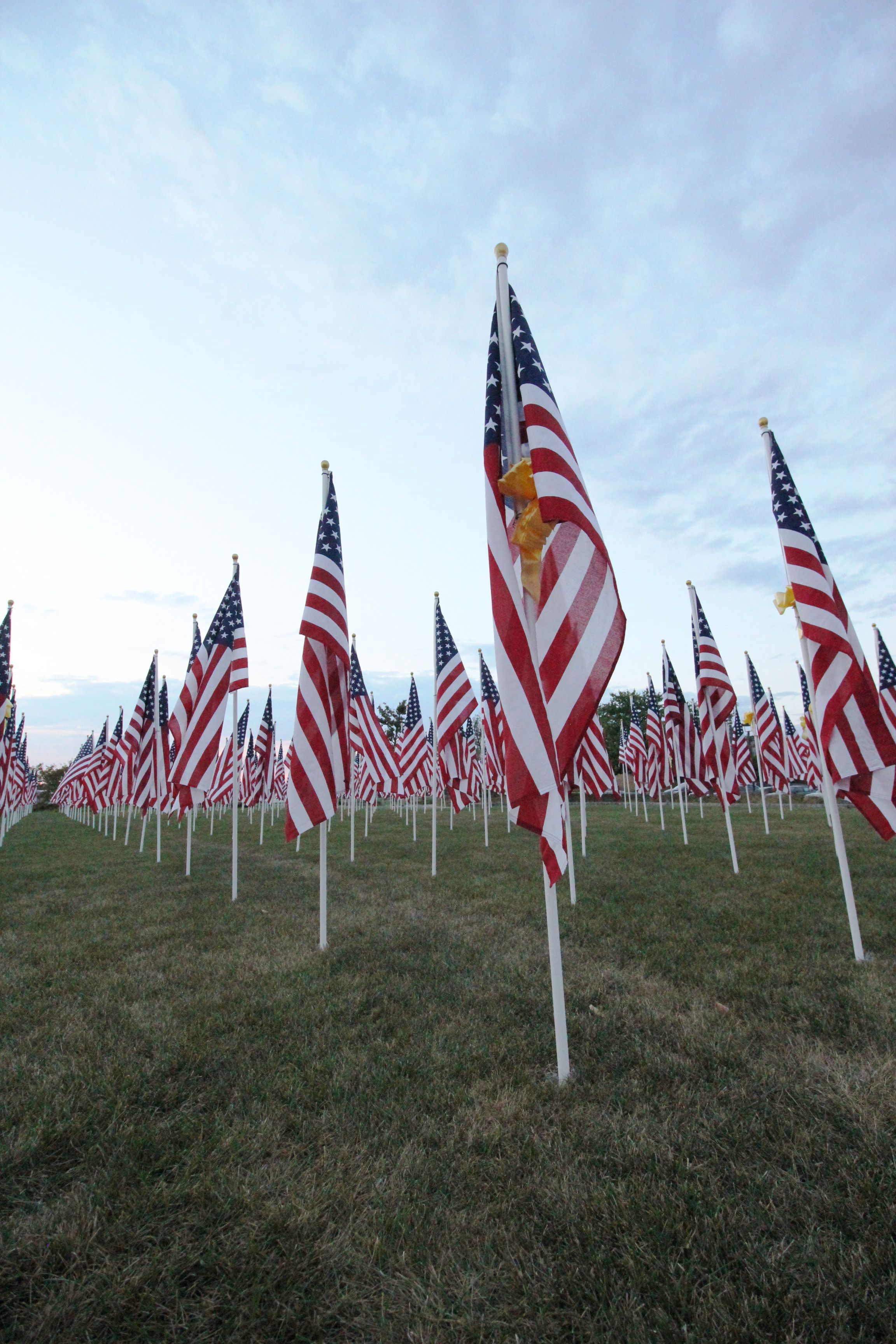 Muncie Exchange Club Puts Up Thousands Of Flags Each Year To Remember Those Who Have Served And Passed For More Photos Follow The Link Flag Muncie Old Glory