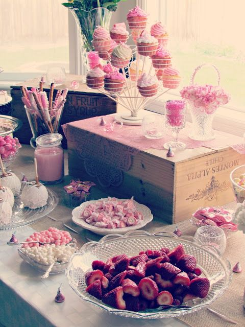 Rustic Living The Baby Shower Pink Things For A Girl Blue Things