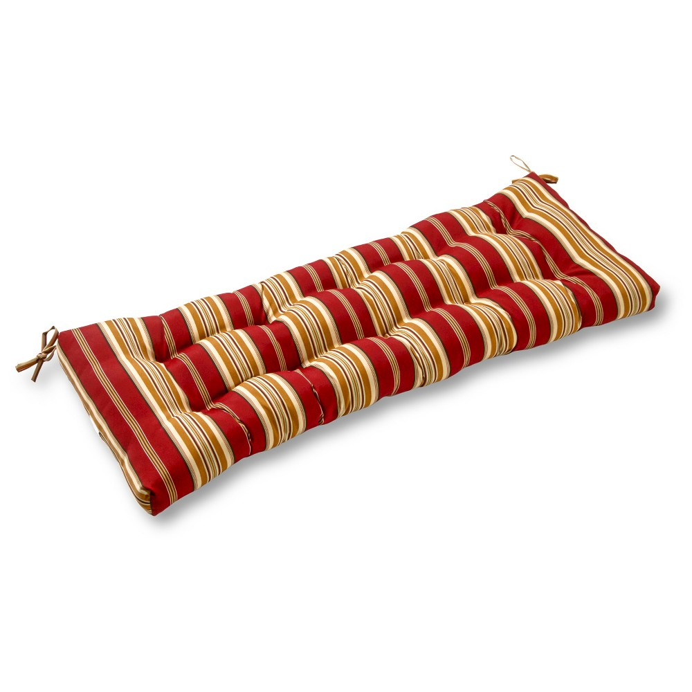 Greendale home fashions outdoor swing and bench cushion