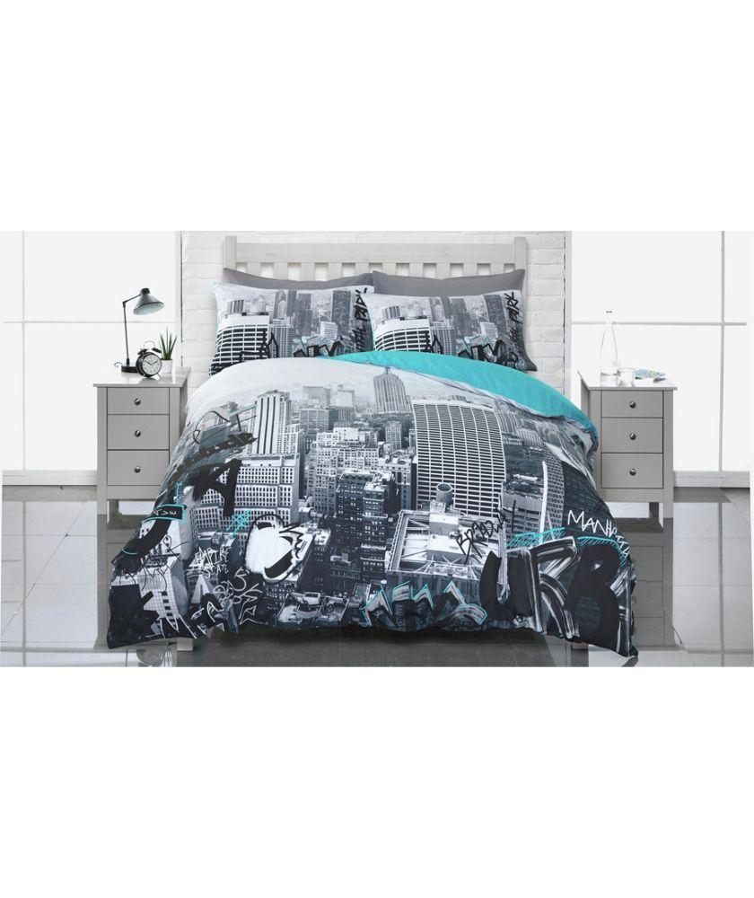 Kingsize Argos Home Bold Floral Bedding Set