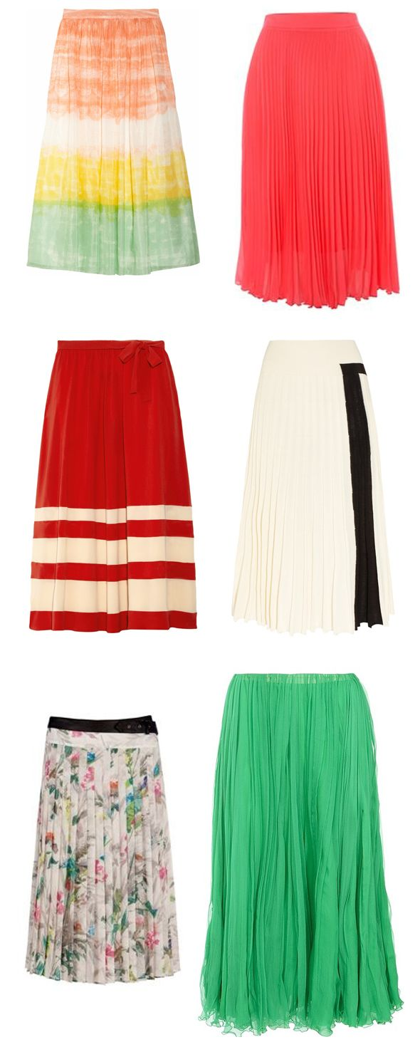 #midi #skirt #pleats #style #umbrella via The Style Umbrella blog