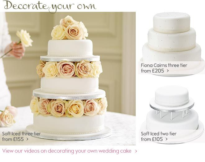 Decorate Your Own Cake Waitrose