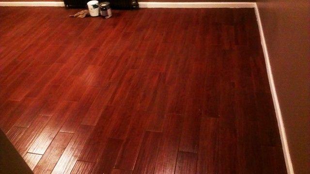 Who Loves Their Porcelain Wood Floor Tile Kitchens