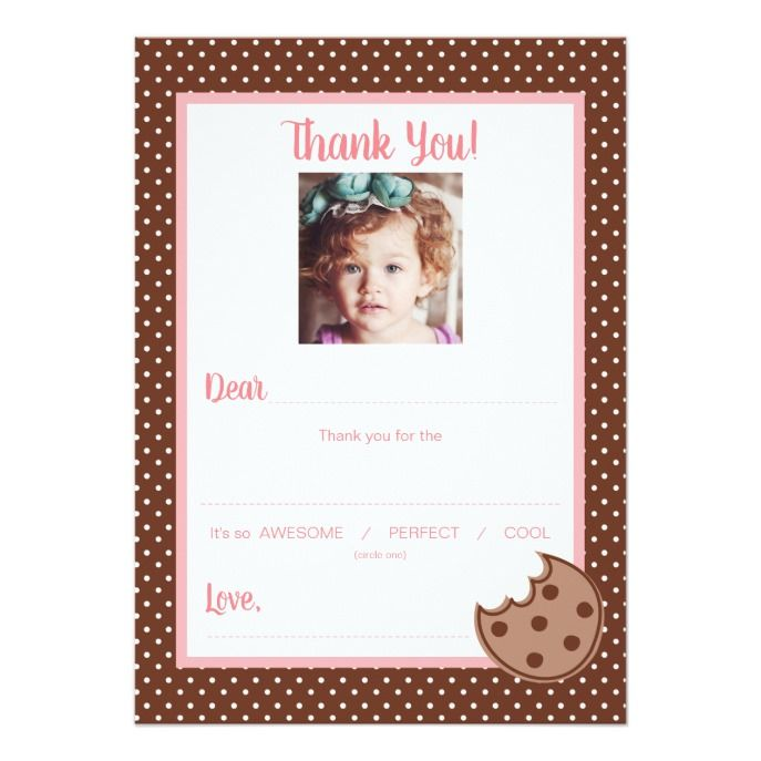 Photo Fill In The Blank Kids Thank You Note Navy Weddings Wedding