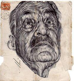 Mark Powell: Biro Pen Drawings (3 von x)