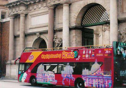 City Sightseeing Rome Hop On Hop Off Bus Tours Rome Tours Rome Tours