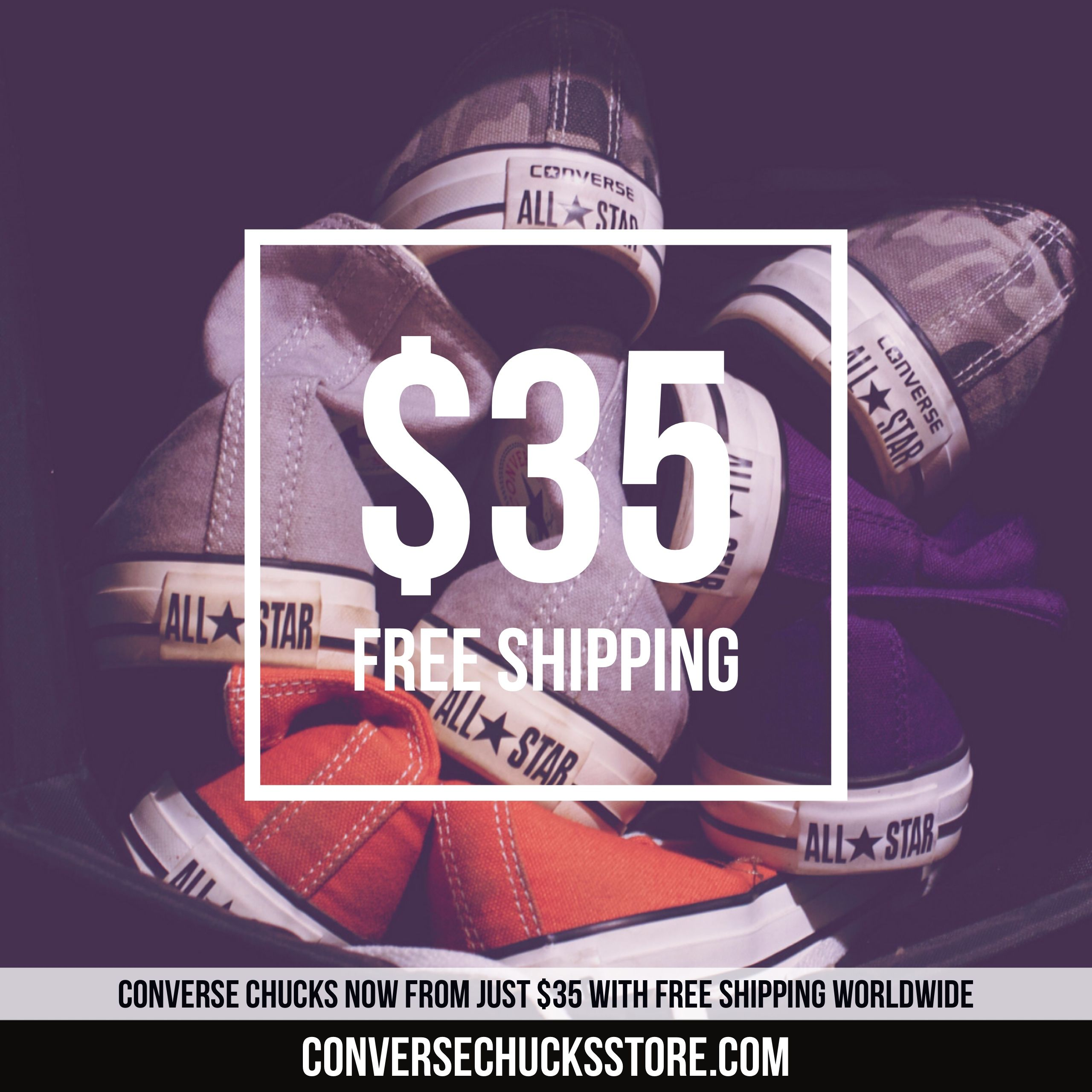 e1e5cb55bc92 Chucks from  35 with free worldwide shipping. Order now on our website   conversechucksstore.