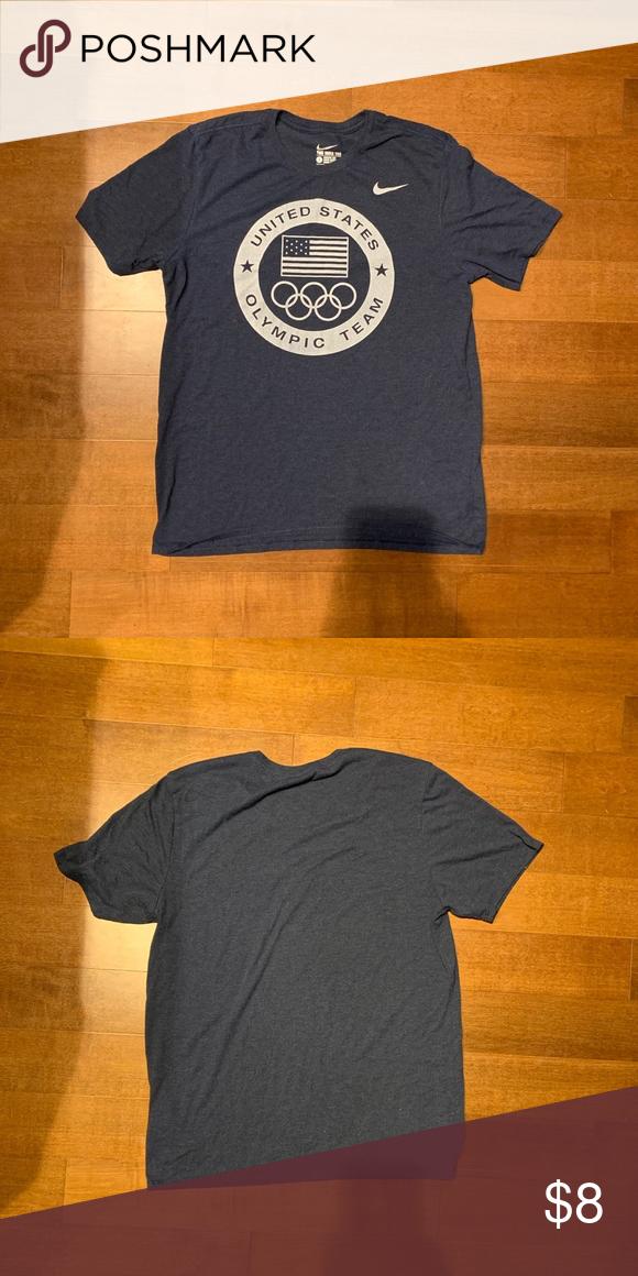 0a07ffcc Nike Dri-Fit Team USA Shirt Good condition. Nike Shirts Tees - Short Sleeve
