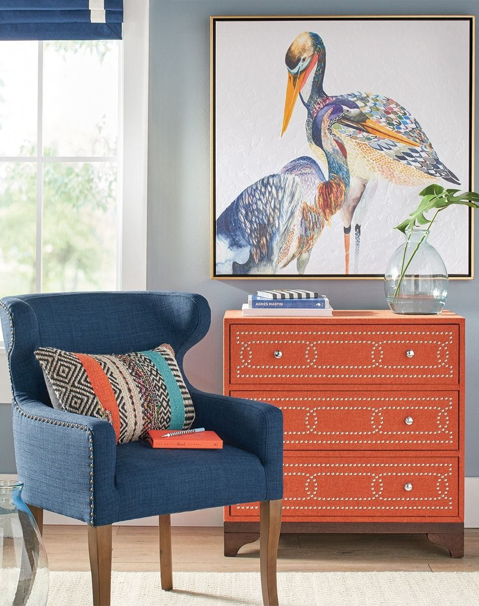 Colorized bird wall art living rooms bedrooms and decorating