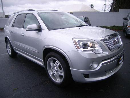 2011 Gmc Acadia Denali 4d Sport Utility New Cars