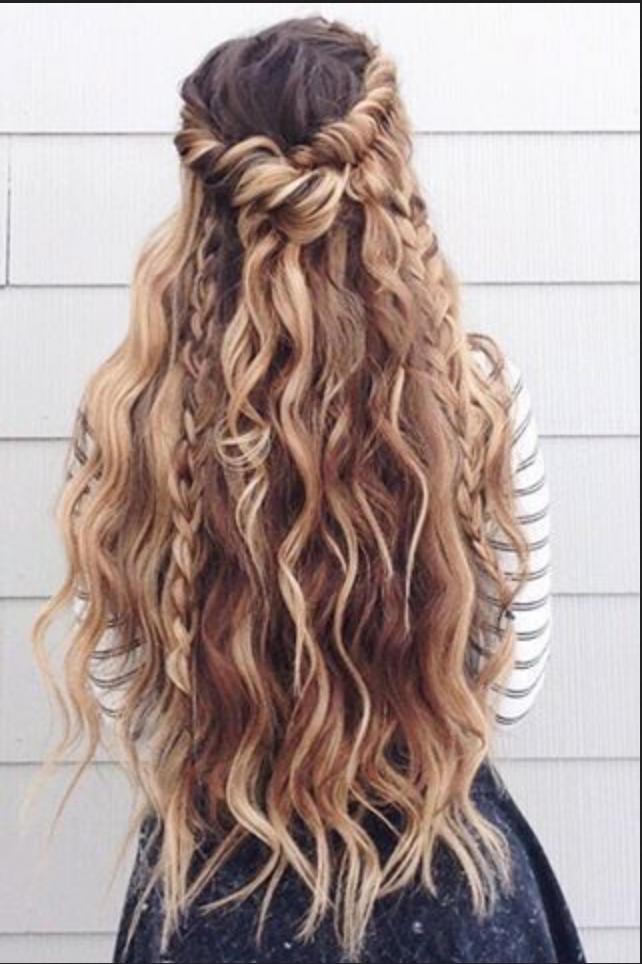 Beach Waves Selber Machen Anleitung Stylingideen Beach Waves Anleitung Zum Selber Machen Long Hair Styles Braided Hairstyles For Wedding Hair Styles