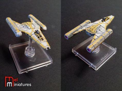 BTL-B Y-wing | Mel Miniatures #BTL #B #Y #wing #Mel #Miniatures #YWing #Fantasy…