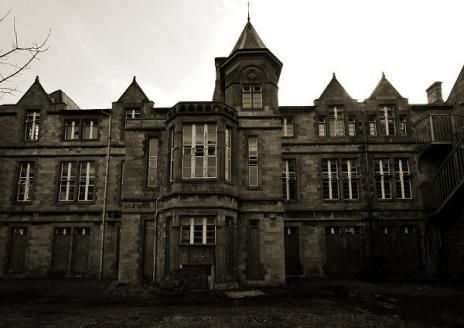 A Perfect Example Of Victorian Asylum Architecture Denbigh Asylum In North Wales Is A Magnificent Structure Abandoned Asylums Asylum Abandoned