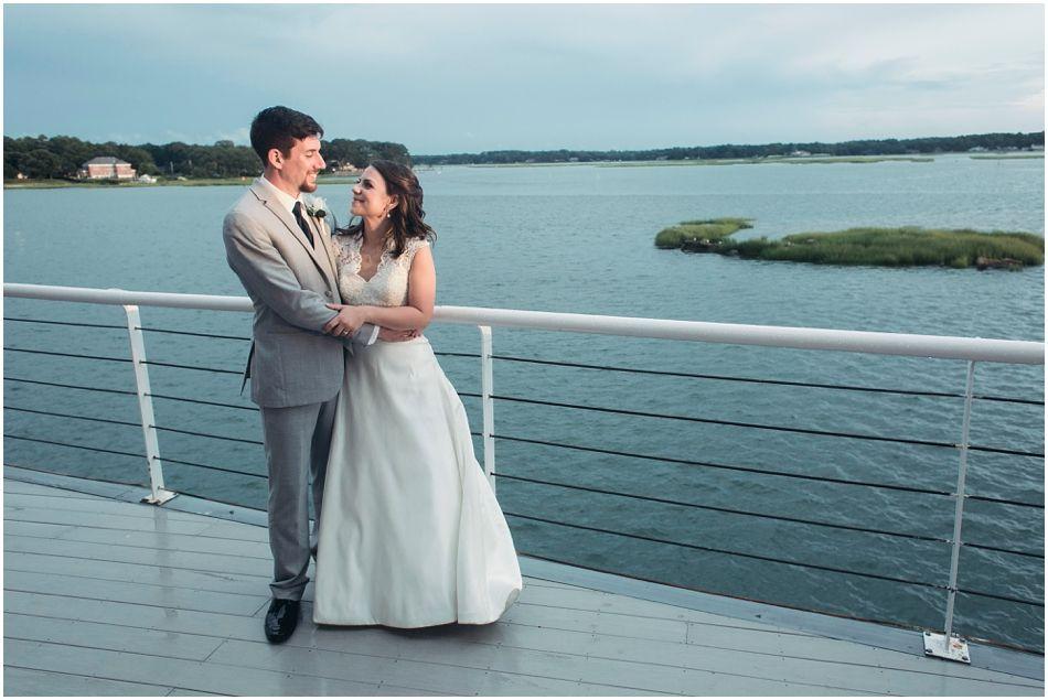 Emily and Chris' Romantic Rainy Day Lesner Inn Wedding