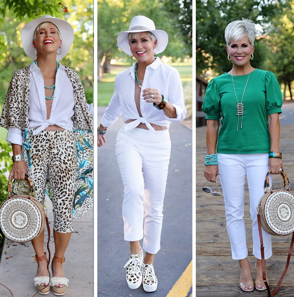 THIS Summer Capsule Wardrobe is FAB - Chic Over 50