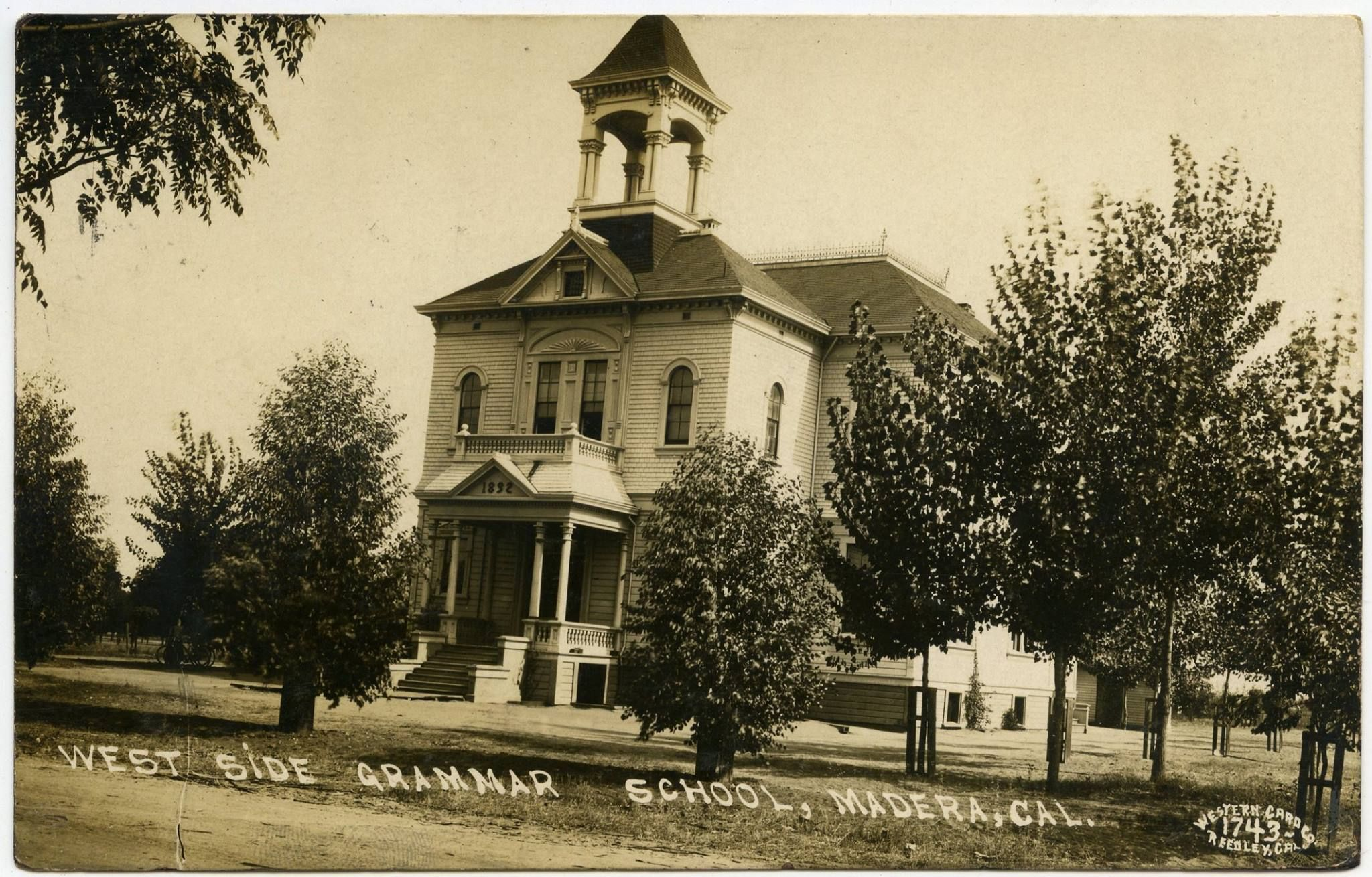 Madera Public Schools, Madera, California. Images taken 1909-1911 by ...