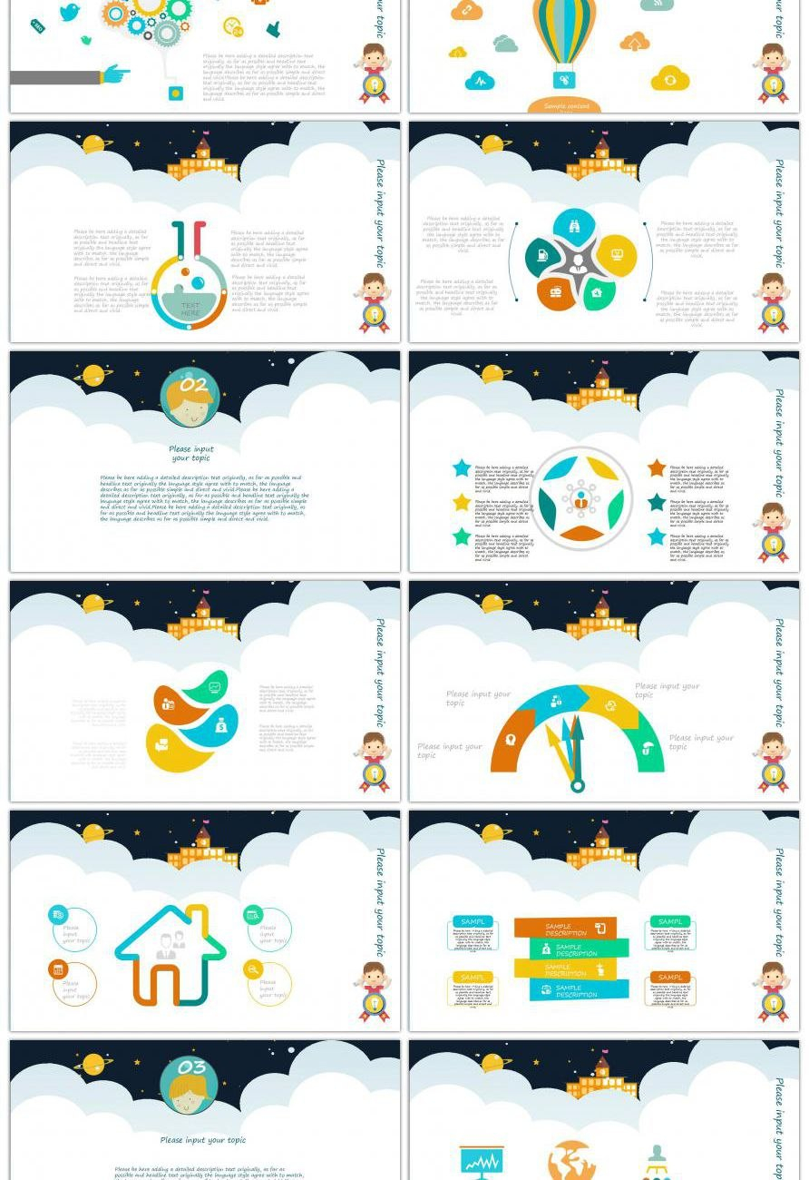 Awesome Lovely Comic Children S Works Report Ppt Template For Within Powerpoint Comic Template 10 Professional Templates Ide Ppt Template Comic Template Ppt