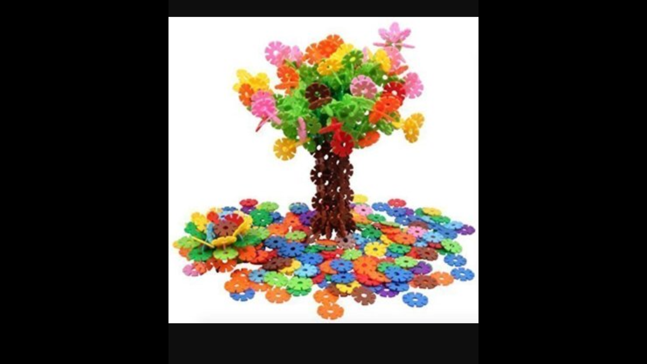 awesome 300pc flake disk building set. $11.99