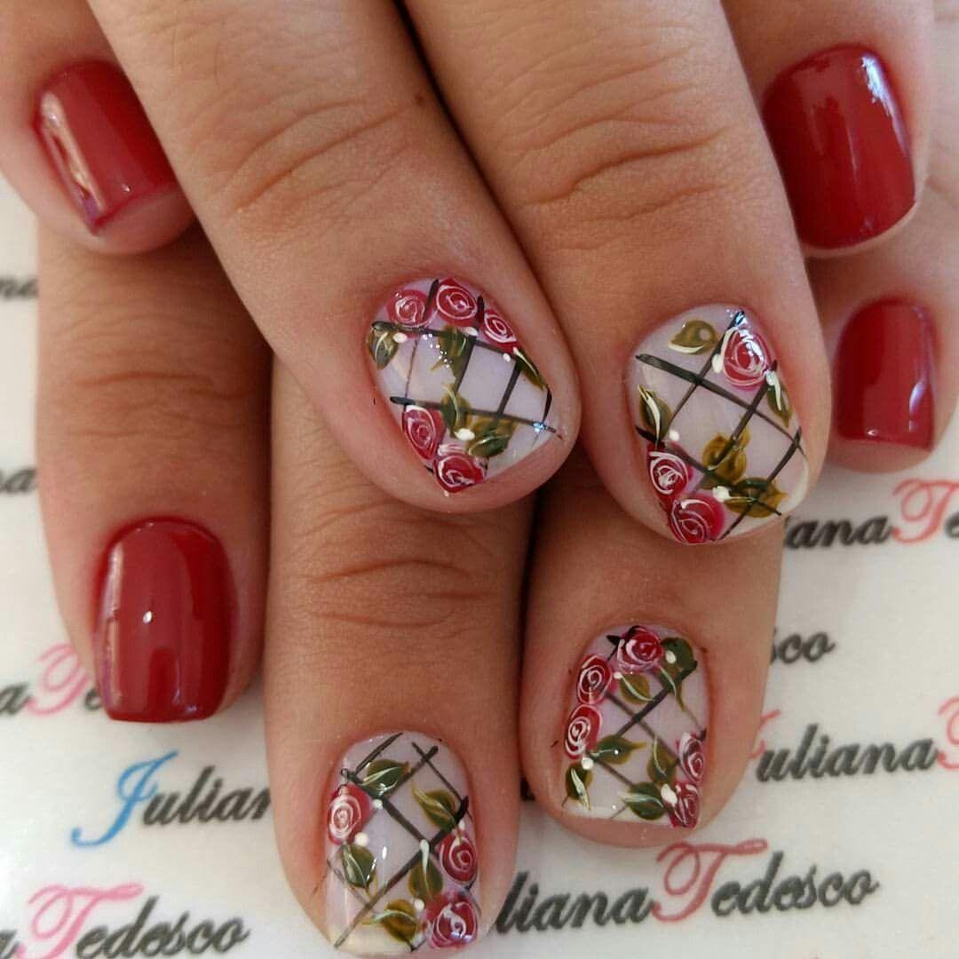 Pin de Ángela en Uñas | Pinterest | Diseños de uñas, Manicuras y Uña ...