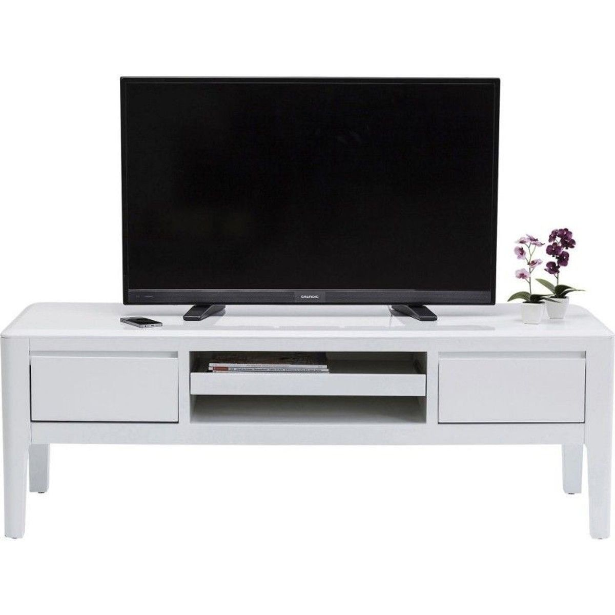 Meuble Tv Brooklyn Blanc Meuble Tv Meuble Tv Design Et Meuble