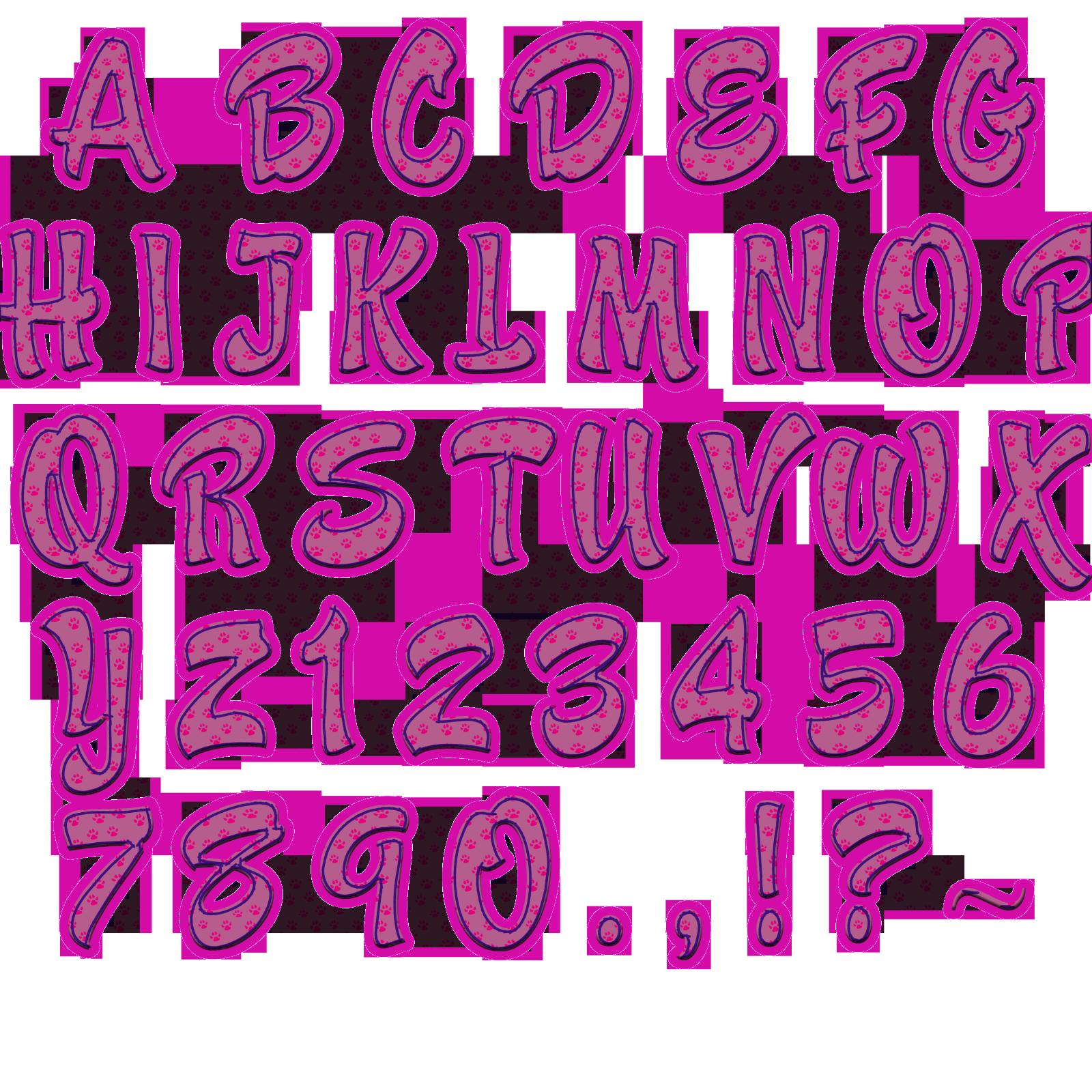 Abecedario letras bonitas ecro para dibujar pelautscom - Letras para dibujar ...
