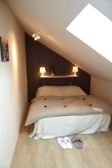 petite chambre sous les toits ma chambre pinterest. Black Bedroom Furniture Sets. Home Design Ideas