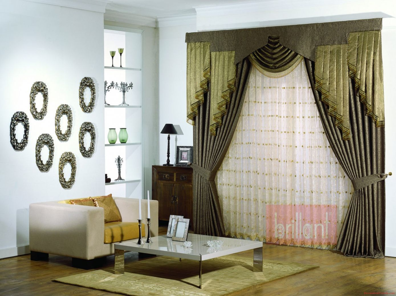 70 modern curtains for living room pictures interior paint color rh pinterest com Front Room Curtain Designs for Large Window Living Room Curtain Decorating Ideas