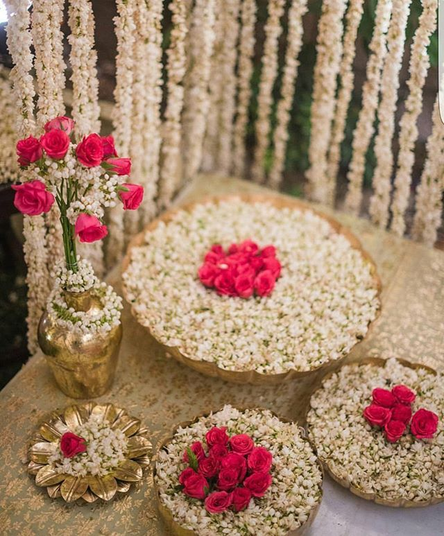 Wedding Decorations For Less: Some Ethnic Wedding Decor Inspiration For You All! Less Is